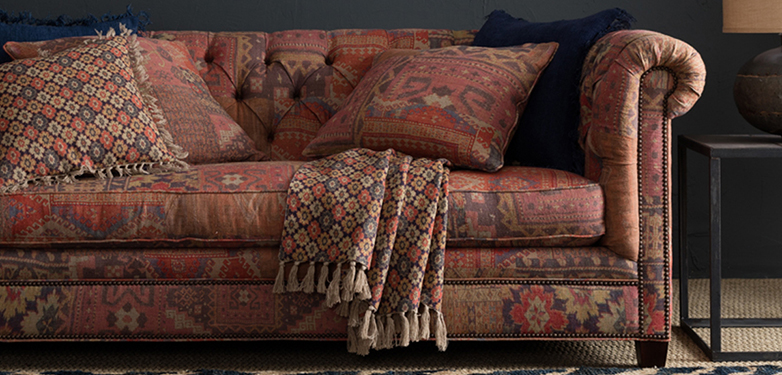 layer boho sofa look 2