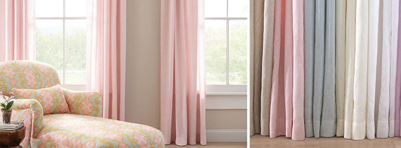 Linen Curtain Panels
